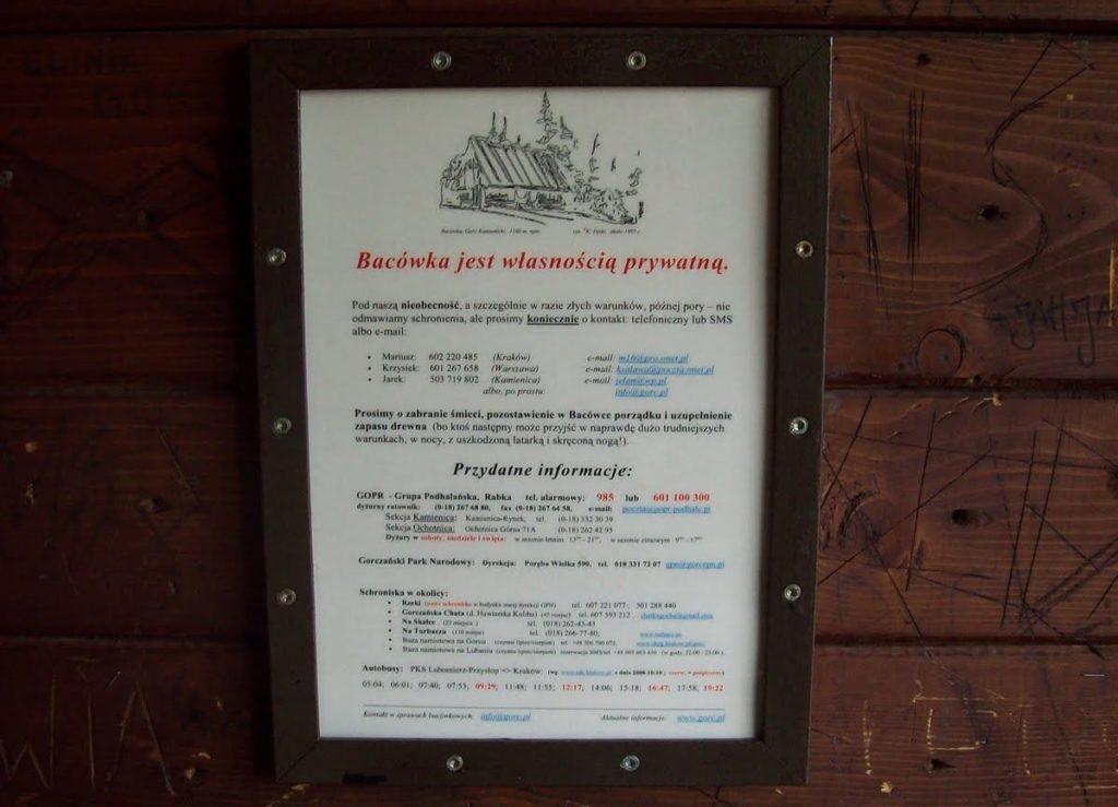 Bacówka na Gorcu Kamienickim