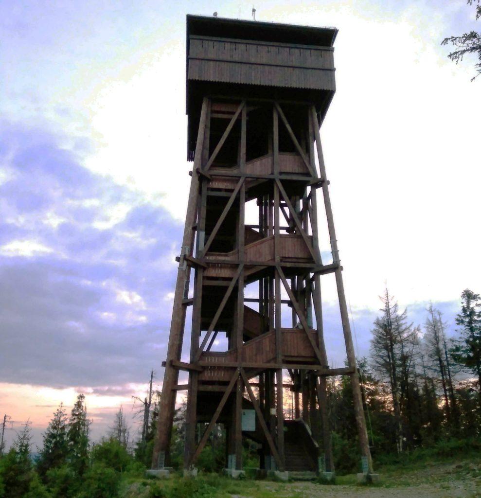 Wieża widokowa na Gorcu