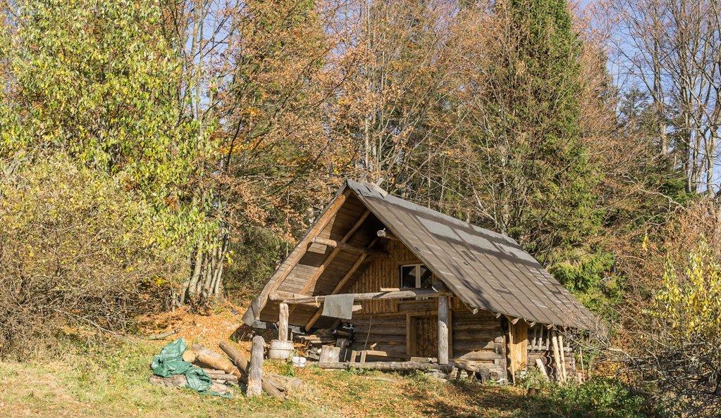 chatka na suchej górze